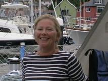 2007.08.31  Solent/English Channel, Lori in River Dart