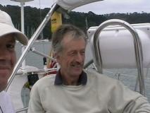 2007.08.31  Solent/English Channel, Julian in River Dart